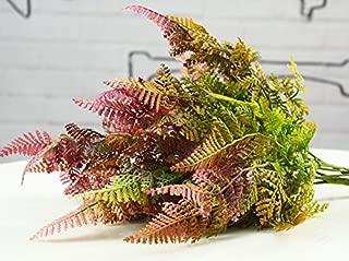 hilingo Artificial Mini Boston Fern Plants for Home and Garden Decoration