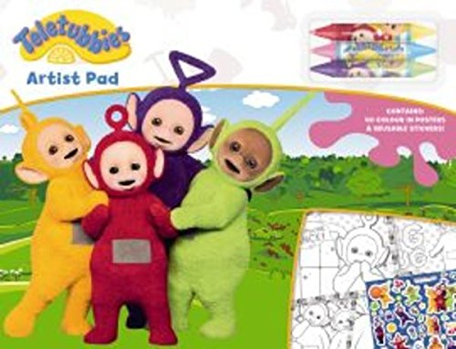 Disney Teletubbies Couleur et Set de Table, TTPLM