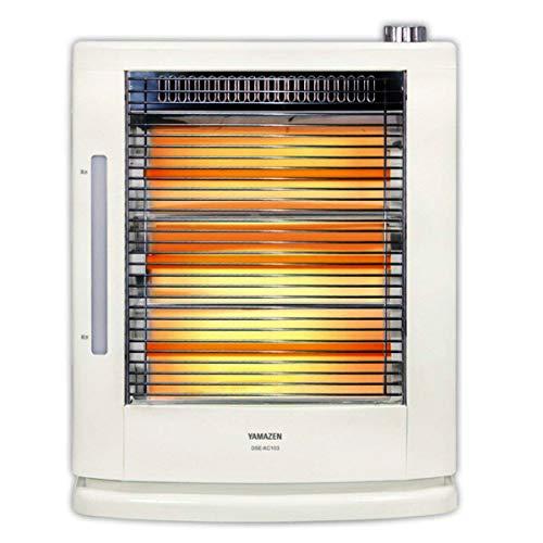 [山善] 遠赤外線電気ストーブ(990W/660W/330W 3段階切替)(スチーム式加湿機能付) ホワイト DSE-KC106(W) [メーカー保証1年]