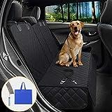 SATISBY Autositzbezüge für Hunde Dog Car Seat Cover verschleißfester Sitzbezug für Haustier Hunde Autoschondecke, Wasserdicht Kratzfest mit Reinigungsbürste und Tragetasche &...