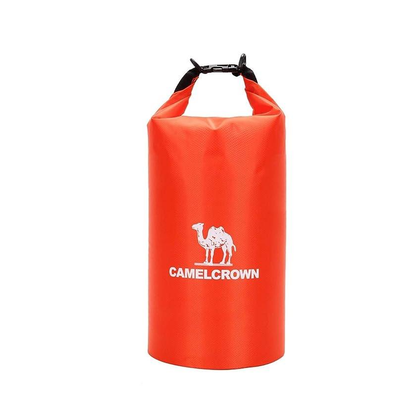 アドバンテージ急襲メンテナンス屋外乾燥バッグ、衣類防水収納バッグ、多目的ポータブル収納シール防水バッグ、10L (Capacity : 10L, Color : Red)