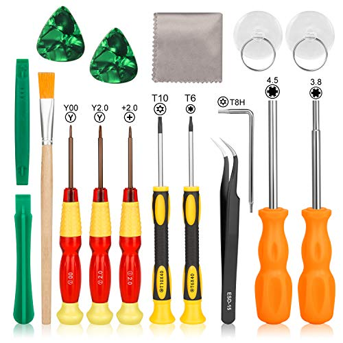 Switch Screwdriver Set - Younik Switch 17 in 1 Tri Wing Tip Screwdrivers for Nintendo Switch Gamebit Repair Tool Kit for Nintendo Switch/Switch Lite/Joy Con/DS/NES/SNES/DS Lite/Wii/GBA/Gamecube