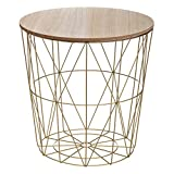 marque Atmosphera, créateur d'intérieur Table à café Kumi Gold