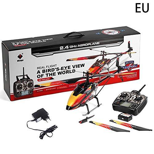 dequate - Avión teledirigido, Modelo de avión, helicóptero de hélice Individual