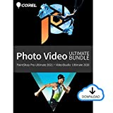 Corel Photo Video Ultimate Bundle 2021 | Powerful Photo-Editing and Movie-Making Software [PC Download][Old Version]