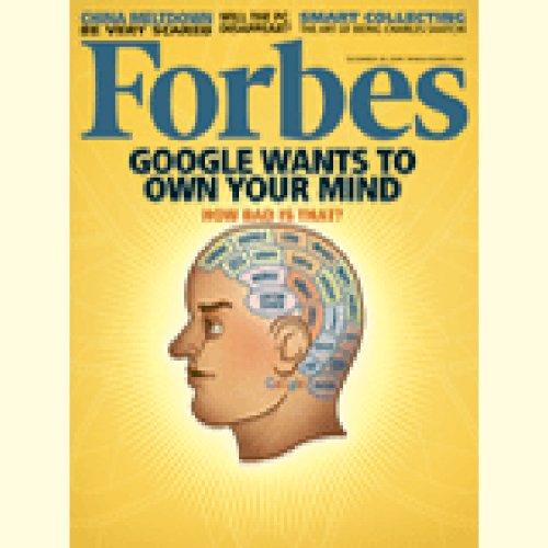 Forbes, December 14, 2009 cover art