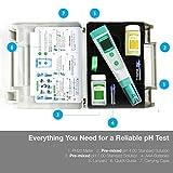 Medidor de pH PH20 de Apera Instruments, medidor de bolsillo (precisión ± 0,1...