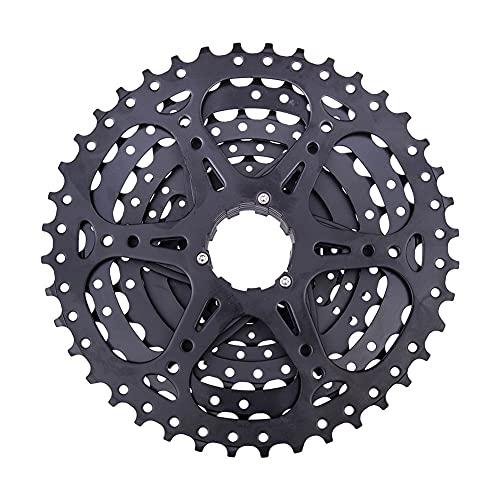 FYLYHWY MTB 8 Velocidad 11-40T Cassette Bicicleta de montaña Piezas de Bicicleta 8S 40T Freewheel 8s Sprocket 8V Negro para k7 Partes M360 M410 M310 (Color : 8s 40T Silver)