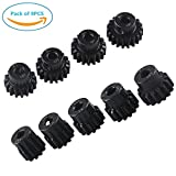 9PCS RC Pinion Gear Combo Set 11T 12T 13T 14T 15T 16T 17T 18T 19T M1 5mm for Brushless Motor of 1:8...