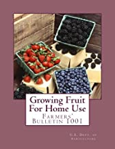 Growing Fruit For Home Use: Farmers' Bulletin 1001
