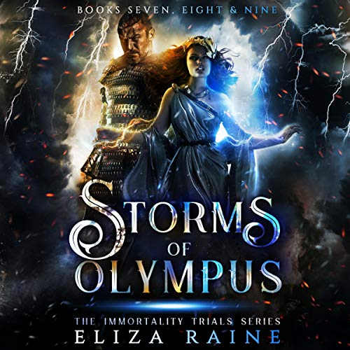 Page de couverture de Storms of Olympus: Books Seven, Eight, & Nine