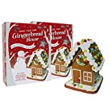 2 Pack Christmas Gingerbread House Kit - Easy to Make - No Baking - with Icing & Decorations - Baking Fun for All The Family!