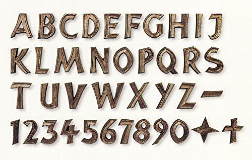Bronzebuchstaben/Grabschrift/Schriftzüge/Bronze/Schrift/Grabstein/Urnenschrift