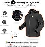 Zoom IMG-2 giacca riscaldante elettrica uomo donna