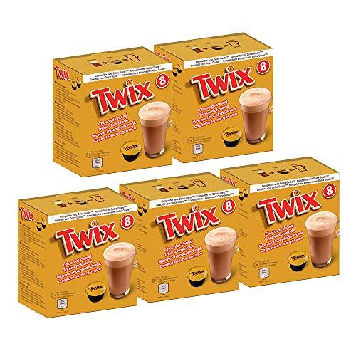 Twix Trinkschokolade für Dolce Gusto® - 5x 8 Kapseln