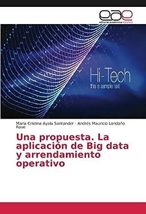 Una propuesta. La aplicación de Big data y arrendamiento operativo (Spanish Edition)