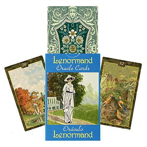 Oracle Cards - Guidance Divi.nation Fate Oracle Deck, Tarot Cards Board Games For Family Friends, Get Together Card Game - Lenormand Oracle Card