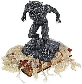 Design Toscano Howl of The Werewolf Statue, Black