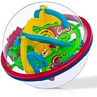 iNeego NEEGO 3D Laberinto Bola 12cm Pelota Pasatiempos con Laberinto 4.7inch Juegos de Educación Mágica Rompecabezas Intelecto Bola Laberinto para Niños Adultos 12cm/ 4.7inch