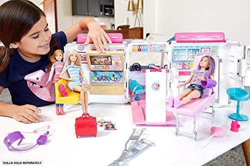 Ambulance de Secours Clinique Soins Médical Barbie - 1