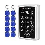 Dongyang Tastiera di Controllo Accessi RFID Lettore di Schede EM 125KHz Esterno + 10pz Telecomandi per Sistema di Controllo Accessi porta