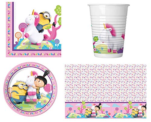 Despicable Me Minions Fluffy Party Pack For 8 Guests