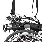 Rock Bros pour Brompton Poignée de Transport Poignée Vélo Pliant Cadre Transport Épaule Sangle