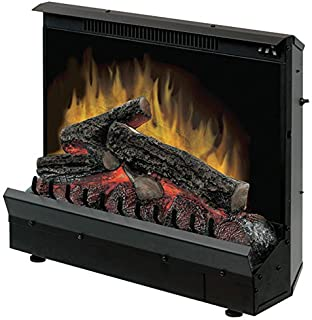 DIMPLEX Black Finish Electric Fireplace Heater Insert