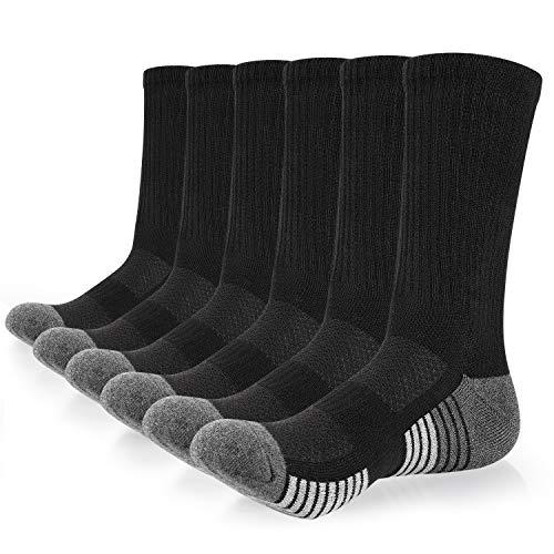 スポーツソックス メンズ 靴下 6足組 ランニング サッカー バスケットボール バレーボール フィットネス トレーニング アウトドア 滑り止め 吸汗通気 抗菌防臭 アーチサポート