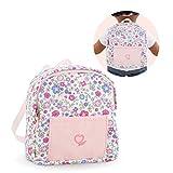 Corolle- Sac à Dos pour poupée Accessoire, 211540, Rose