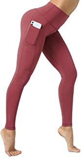 Yoga Leggings High Waist for Women with Pockets Workout...