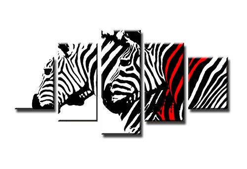 picturado 160 x 80 cm Bilder Zebra