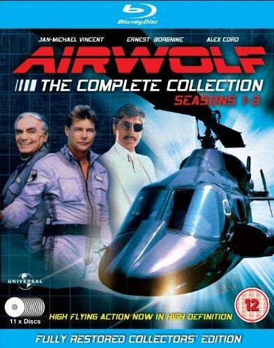 Lobo del aire / Airwolf Complete Collection (Season 1-3) - 11-Disc Box Set ( Air wolf - Seasons One, Two & Three ) [ Origen UK, Ningun Idioma Espanol ] (Blu-Ray)