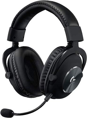 Logitech G PRO X Casque Gaming Over-Ear avec Micro BLUE VO!CE, DTS Headphone:X 7.1, Transducteurs PRO-G 50mm, Son Sur...