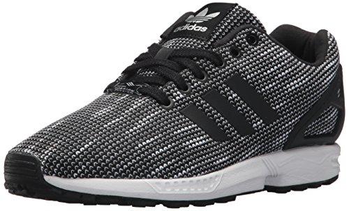 adidas Originals ZX Flux - Zapatillas Deportivas para Hombre, Color Blanco, Blanco y Negro, Color Negro, Talla 36 EU