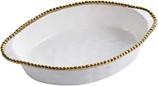 Pampa Bay Titanium Baking Dish (Oval, Golden Salerno)