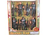 Special Forces Five Piece Military Team by Polyfect Toys
