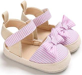 Zapatos Bebe NiñO NiñA Rojo Bebé ReciéN Nacido Bebé NiñAs Arco Antideslizante Zapatos De Cuna Suave Suela Zapatillas De Deporte Prewalker 11(0 Meses-6 Meses), Rosa