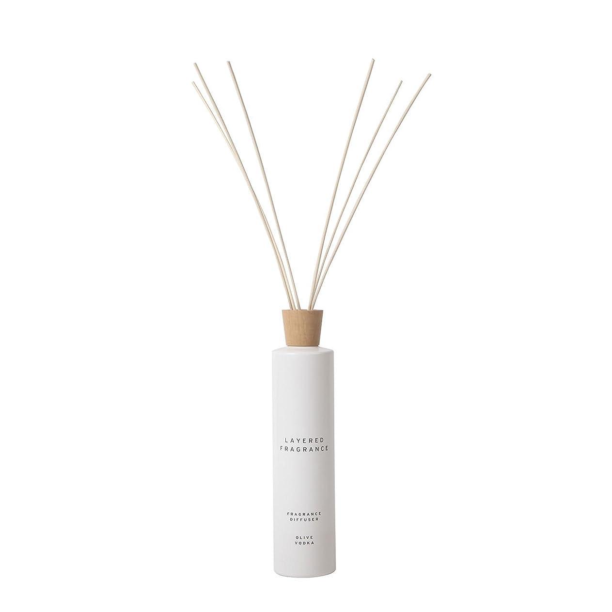 エミュレーションリス成分空間ごとに香りを使い分けて楽しむ レイヤードフレグランス フレグランスディフューザー オリーブウォッカ 500ml