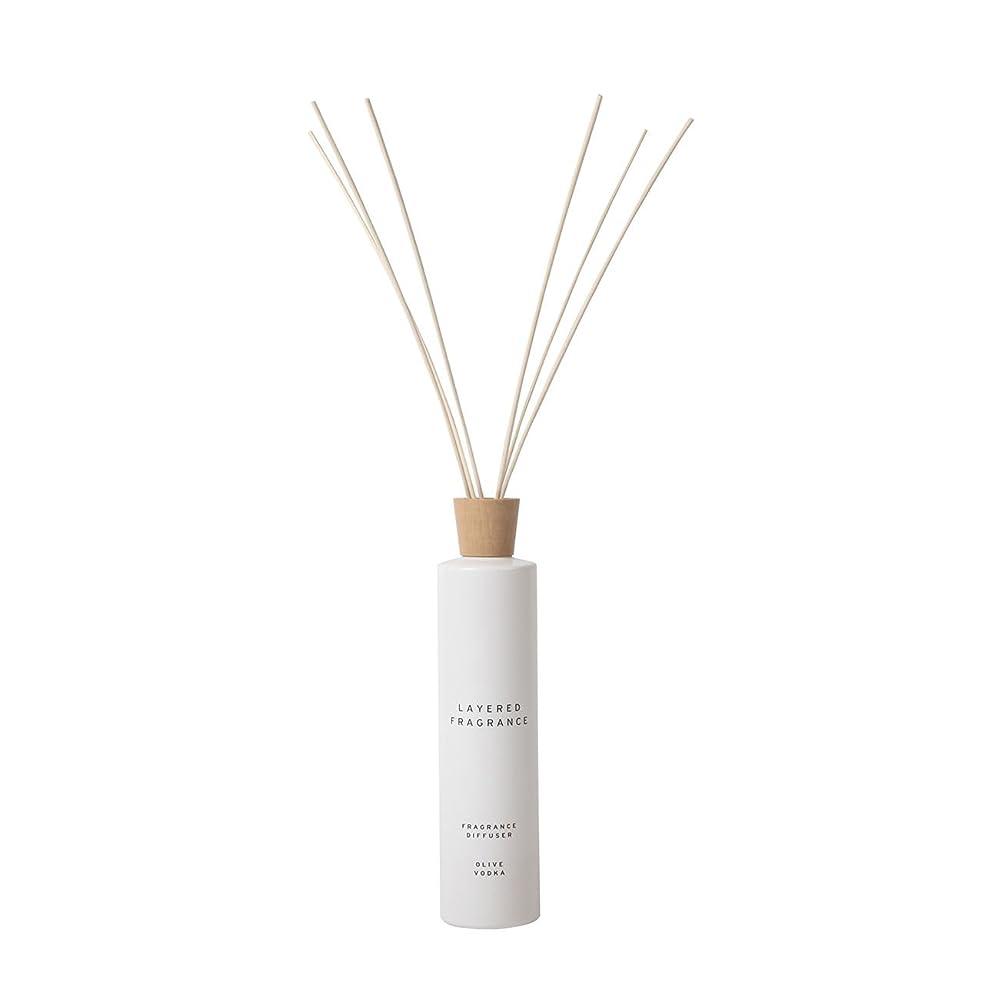 練習した柱ガウン空間ごとに香りを使い分けて楽しむ レイヤードフレグランス フレグランスディフューザー オリーブウォッカ 500ml
