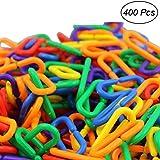 TOYMYTOY Catena in plastica per giocattoli di bambini 400PCS...
