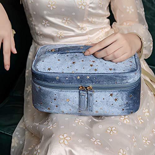 CHENSQ Bolso cosmético Grande, Bolso cosmético Suficiente, señoras, Bolso cosmético