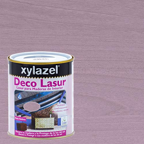 Xylazel - Protección madera deco lasur 750ml provenzal rosa