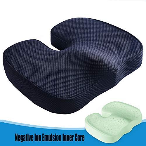 XJZHAN Latexkissen, bequem und atmungsaktiv, schönes Ass Pad, männlich und weiblich, Sitzkissen, geeignet für eine Vielzahl von Menschen, B, 44 x 33 x 7 cm