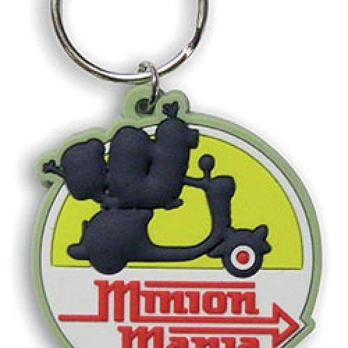 Les Minions - Porte-clés caoutchouc Minion Mania 6 cm
