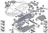 BMW Genuine Underfloor Coating Wheelarch Trim Bottom Left Cover 528i 528iX 535i 535iX 550i 550iX Hybrid 5 528i 528iX 535d 535dX 535i 535iX 550i 550iX Hybrid 5