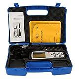 Igrometro termometro digitale, mini sensore per misuratore di temperatura psicrometro LCD, monitor di umidità e umidità per tenuta dati ad alta precisione, per prove di laboratorio, industriali