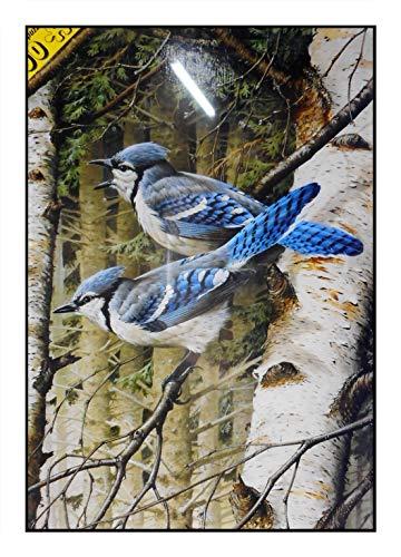 N / A James Hamilton 500 T - Puzzle (51 x 35 cm), diseño de pájaro cantante