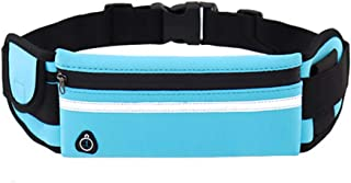 Running Belt with Extender, Bounce Free Pouch Bag, Fanny Pack Workout Belt Sports Waist Pack Belt Pouch for Apple iPhone X...