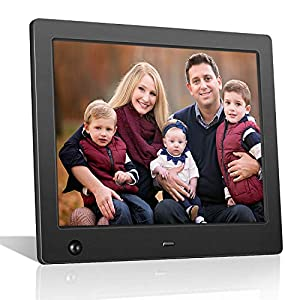 Digital Picture Frame Full HD Display Photo 180°View Angle Digital Photo Frame Support Background Music USB SD Slot…